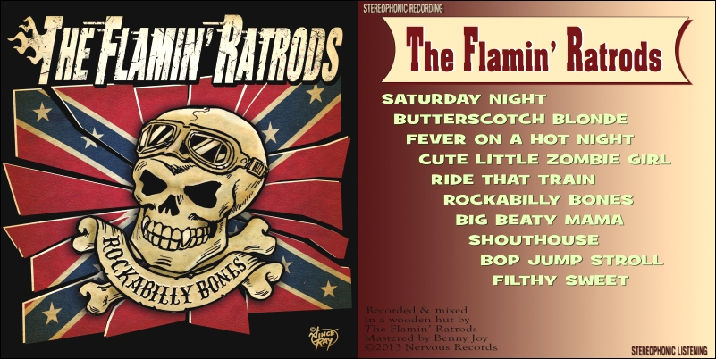 flamin' ratrods cd cover
