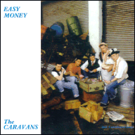 The Caravans - Easy money LP sleeve