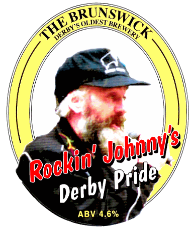 Rockin' Johnny's beer!